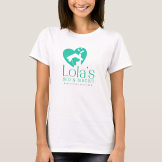 Women's White LB&B Logo Shirt