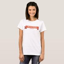 "Women's White T-shirt ""Blessed Mess"""