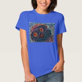 Women's Wise Old Mr. Owl T-Shirt
