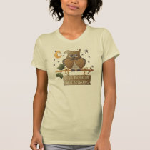 Womens' Wise Old Owl T-Shirt