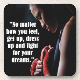 Women's Workout Motivational Coasters