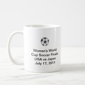 Women's World Cup Soccer Finals Coffee Cup