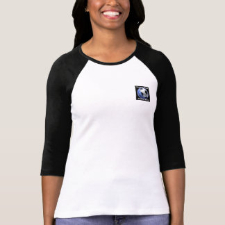 Women's World Football Show Ladies Fitted Sleeves T-Shirt