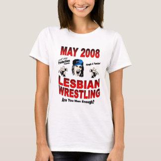 Womens Wrestling T-Shirt