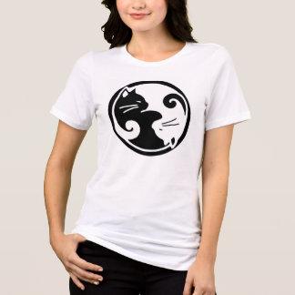 Women's Yin Yang Cats Tee