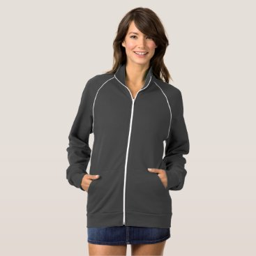 Beach Themed Women's Zip-Up Jacket