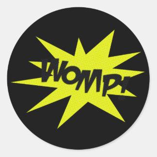 Womp Classic Round Sticker
