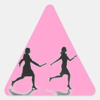WOMYN TO WOMYN TRIANGLE STICKER
