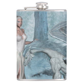 Wondeful fairy with dragon flask