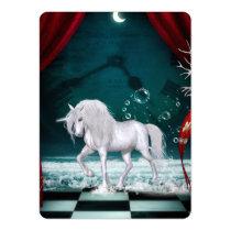 Wondeful unicorn invitation