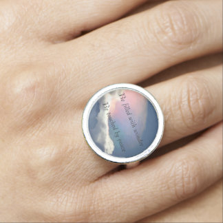 Wonder and Peace Ring
