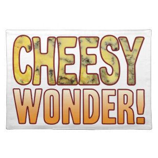 Wonder Blue Cheesy Placemat