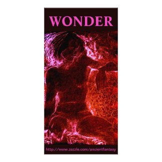 """WONDER"" Custom Fine Art Photocard Card"