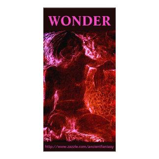 """WONDER"" Custom Fine Art Photocard Card"