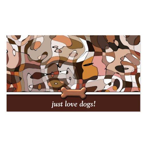 Wonder Dog Custom Canine Design Dog Walker Business Cards