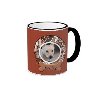 Wonder Dog Custom Ringer Mug
