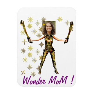 Wonder Fairy Princess, Swords - Insert YOUR Photo- Magnet