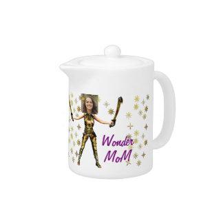 Wonder Fairy Princess, Swords - Insert YOUR Photo- Teapot