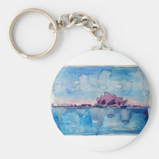 Wonder from Downunder Sydney Keychain