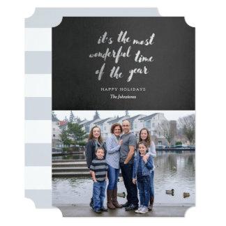 Wonder Holiday Photo Card