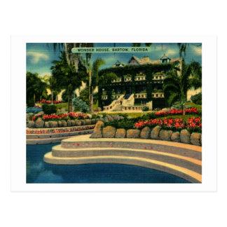 Wonder House, Bartow, Florida Vintage Postcard