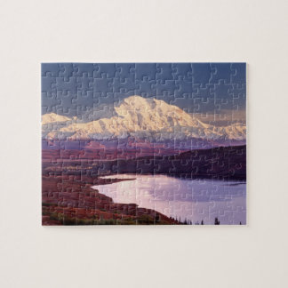 Wonder Lake and Mt. Denali at sunrise in the Jigsaw Puzzle