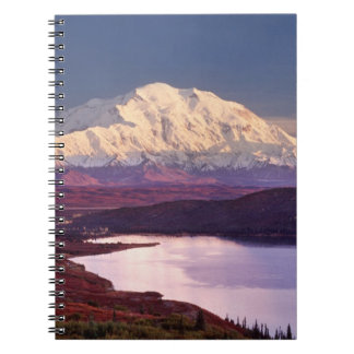 Wonder Lake and Mt. Denali at sunrise in the Notebook