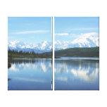 Wonder Lake - Denali National Park Canvas Print