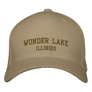 Wonder Lake Illinois Pro Custom Baseball Cap