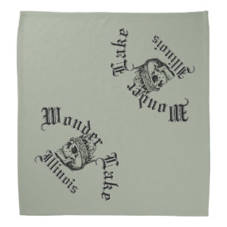 Wonder Lake Skull Bandana