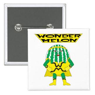 Wonder Melon Button