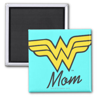 Wonder Mom Classic 2 Inch Square Magnet