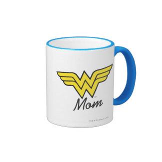 Wonder Mom Classic Ringer Mug