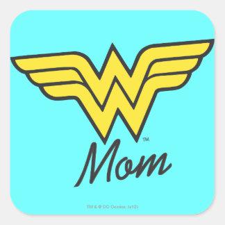 Wonder Mom Classic Square Sticker