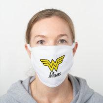 Wonder Mom Classic White Cotton Face Mask