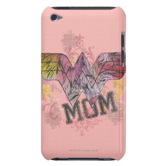 Wonder Mom Mixed Media Case-Mate iPod Touch Case