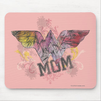 Wonder Mom Mixed Media Mouse Pad