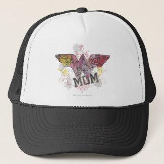 Wonder Mom Mixed Media Trucker Hat
