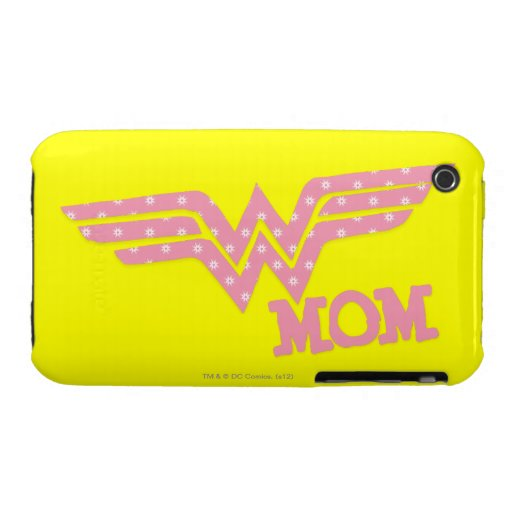 Wonder Mom Pink iPhone 3 Covers