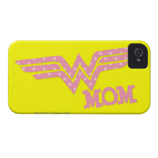 Wonder Mom Pink iPhone 4 Cover