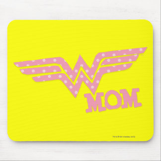 Wonder Mom Pink Mouse Pad