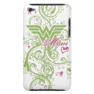 Wonder Mom Swirls iPod Case-Mate Case