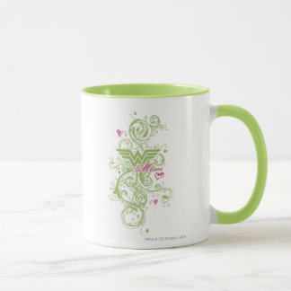 Wonder Mom Swirls Mug