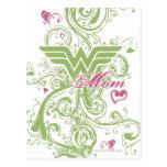 Wonder Mom Swirls Postcard