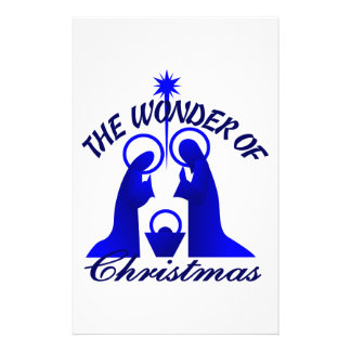 Wonder Of Christmas Stationery