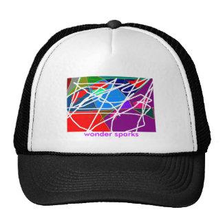 wonder sparks mesh hat