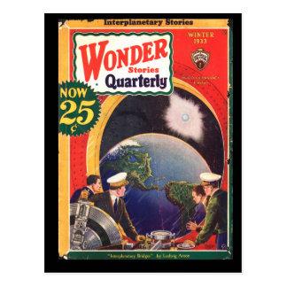 Wonder Stories Quarterly v04 n02 (1933-Wi.Stellar) Postcard