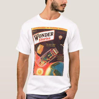 Wonder Stories v04 n03 (1932-08.Stellar)_Pulp Art T-Shirt