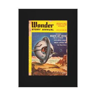 Wonder Story Annual v01 n03 (1952.Best Books)_Pulp Canvas Print