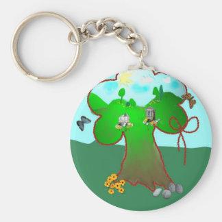 Wonder tree keychain